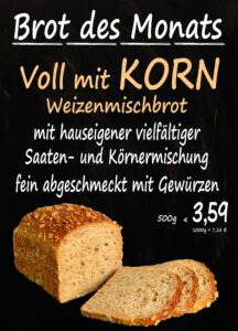 Brot des Monats November