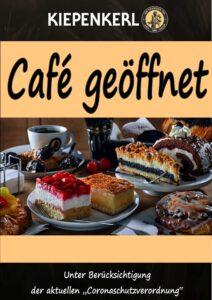Unsere Cafés sind wieder geöffnet